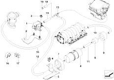 Original Parts for E53 X5 4.6is M62 SAV / Engine/ Cooling