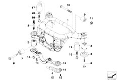Original Parts for E46 320d M47 Touring / Rear Axle/ Rear