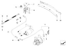 Original Parts for E46 320d M47 Touring / Engine