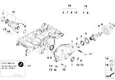 Original Parts for E53 X5 3.0d M57N SAV / Front Axle