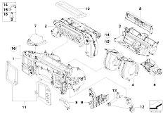 Original Parts for E60 M5 S85 Sedan / Heater And Air