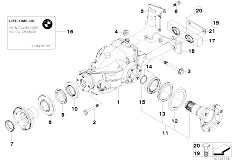 Original Parts for E46 330d M57 Touring / Rear Axle