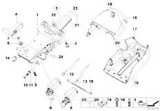 Original Parts for E53 X5 3.0d M57 SAV / Steering/ Power