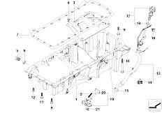 Original Parts for E46 330xd M57 Touring / Engine/ Timing
