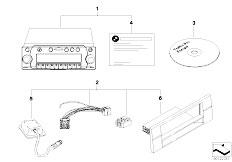 Original Parts for E39 520d M47 Sedan / Audio Navigation