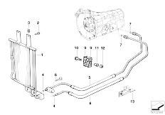 Original Parts for E36 320i M52 Coupe / Radiator/ Radiator
