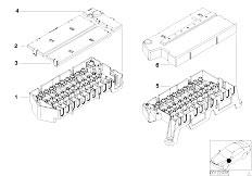 Original Parts for E38 750i M73 Sedan / Vehicle Electrical