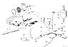 Original Parts for E21 315 M10 Sedan / Fuel Preparation
