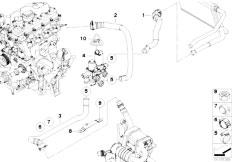 Original Parts for E90 320d M47N2 Sedan / Heater And Air