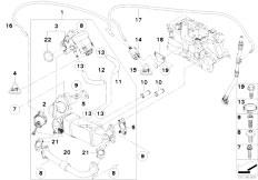 Original Parts for E83N X3 2.0d N47 SAV / Engine/ Emission