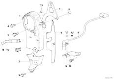 Original Parts for E34 520i M20 Sedan / Engine/ Cooling
