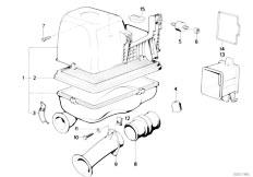 Original Parts for E30 M3 S14 Cabrio / Fuel Preparation