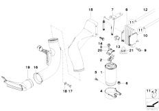 Original Parts for E39 525d M57 Touring / Fuel Preparation