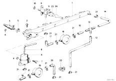 Original Parts for E30 323i M20 2 doors / Fuel Preparation