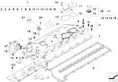 Original Parts for E53 X5 3.0d M57 SAV / Engine/ Belt