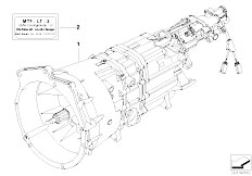 Original Parts for E46 M3 S54 Coupe / Manual Transmission