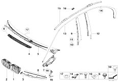 Original Parts for E46 316i 1.9 M43 Sedan / Vehicle Trim