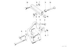 Original Parts for E34 524td M21 Sedan / Engine Electrical