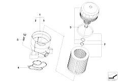 Original Parts for E91N 316i N43 Touring / Engine/ Engine