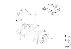 Original Parts for E91N 335xi N54 Touring / Audio