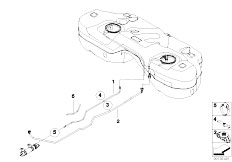 Original Parts for E83 X3 2.0d M47N2 SAV / Fuel Supply
