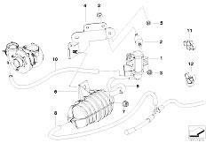 Original Parts for E83N X3 2.0d M47N2 SAV / Engine/ Turbo
