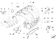 Original Parts for E90 320i N46 Sedan / Engine/ Intake