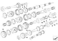 Original Parts for E30 M3 S14 Cabrio / Manual Transmission