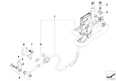 Original Parts for E46 330i M54 Sedan / Gearshift/ Gearbox