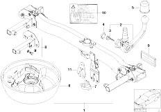 Pièces detachées pour les E46 318Ci N42 Cabrio / Equipment