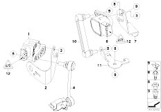 Original Parts for E87 118i N46 5 doors / Rear Axle/ Rear
