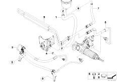 Original Parts for E83 X3 2.5i M54 SAV / Steering