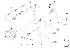Original Parts for E46 320d M47N Touring / Fuel