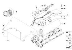 Original Parts for E53 X5 3.0d M57N SAV / Fuel Preparation