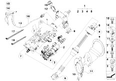 Original Parts for E61 523i N52 Touring / Steering/ Power