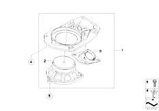Original Parts for E61 520d M47N2 Touring / Audio