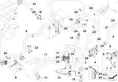 Original Parts for E53 X5 3.0d M57N SAV / Heater And Air