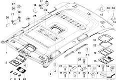 Original Parts for E53 X5 3.0d M57N SAV / Vehicle Trim