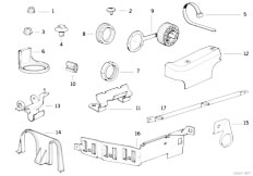 Original Parts for E34 525tds M51 Touring / Engine