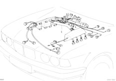 Original Parts for E34 540i M60 Sedan / Engine Electrical