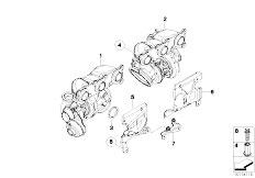 Original Parts for F01 740i N54 Sedan / Engine/ Cylinder