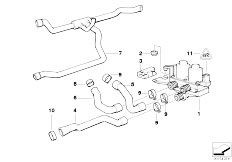 Original Parts for E36 316g M43 Compact / Heater And Air