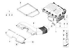 Original Parts for E90N 335i N54 Sedan / Fuel Preparation