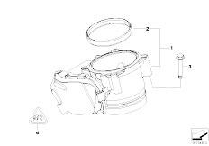 Original Parts for E64N 630i N53 Cabrio / Fuel Preparation