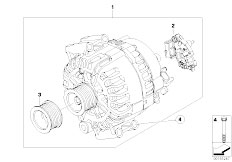 Original Parts for F02 740Li N54 Sedan / Engine Electrical