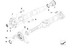 Original Parts for E83 X3 2.0i N46 SAV / Drive Shaft