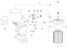 Original Parts for E36 M3 S50 Sedan / Engine/ Vacuum
