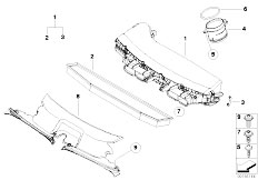 Original Parts for E83N X3 2.0d N47 SAV / Fuel Preparation
