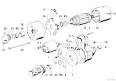 Original Parts for E32 730i M30 Sedan / Engine Electrical