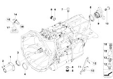 Original Parts for E60 M5 S85 Sedan / Manual Transmission
